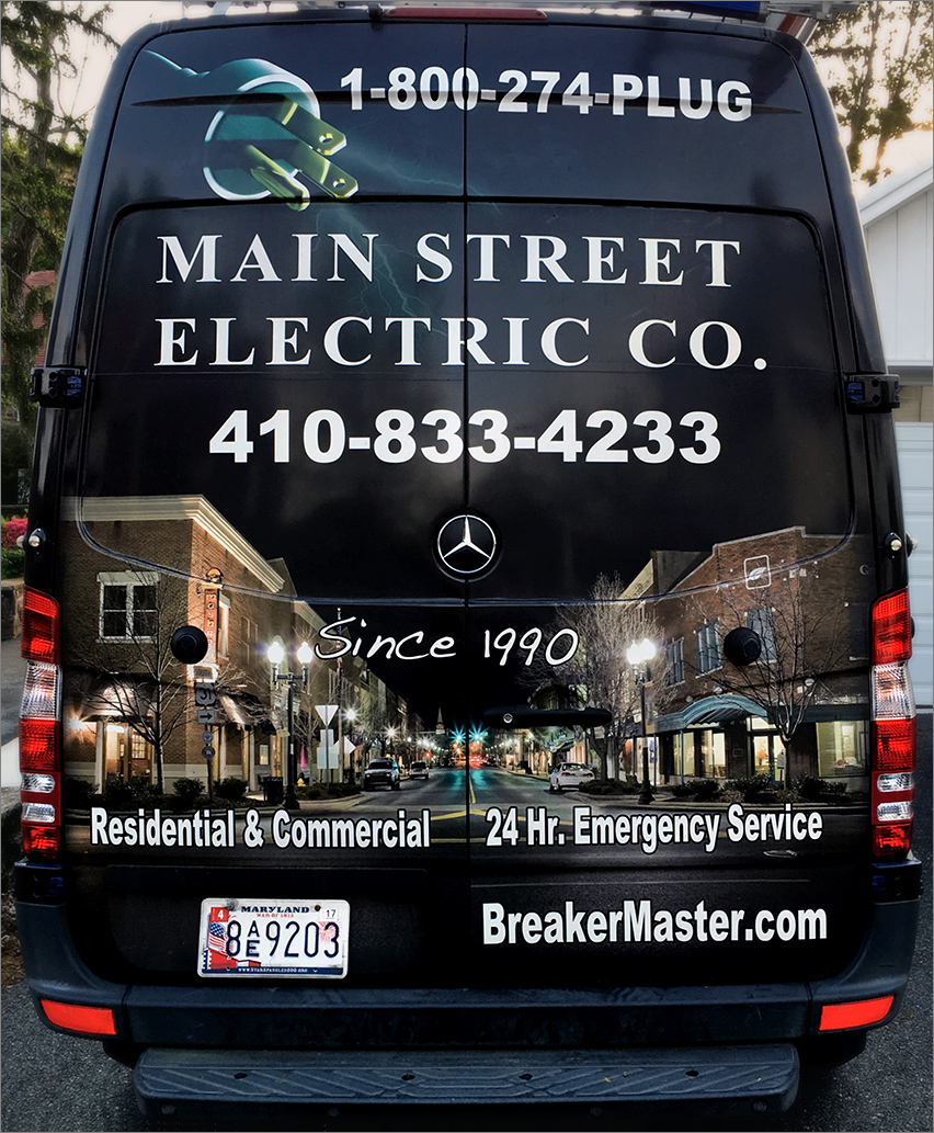 Main Street Electric Truck